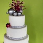 Disco Ornament Cake