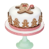 Gingerbread Men Cake