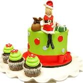 Santa Baby Cake