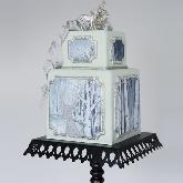 Glittering Fawn Cake