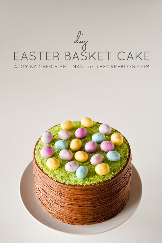 Easter Basket Cake Intro