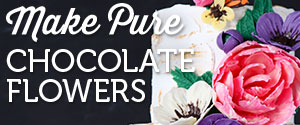 Learn to Make Chocolate Flowers