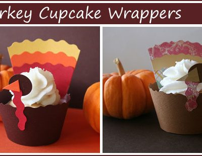 Fab Find: Turkey Cupcake Wrappers