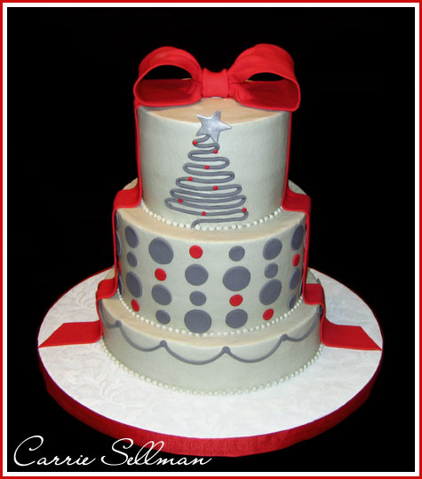 Modern Christmas Cake Decorating Ideas : Christmas Cake Decoration on Pinterest Christmas Cakes ...