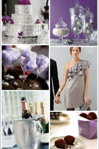 Silver & Purple New Years Eve