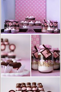 Real Party: Brown & Pink Baby Shower