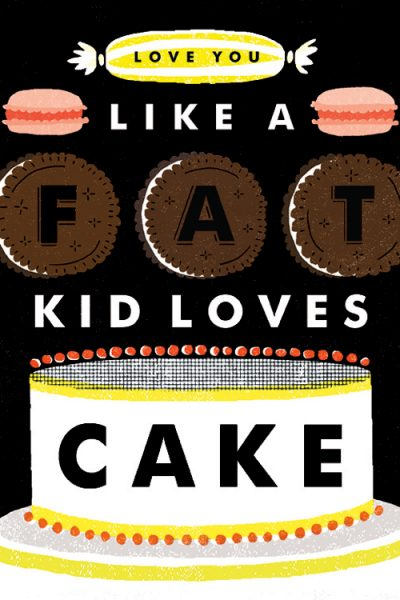 Fab Find: Ultimate Cake Poster