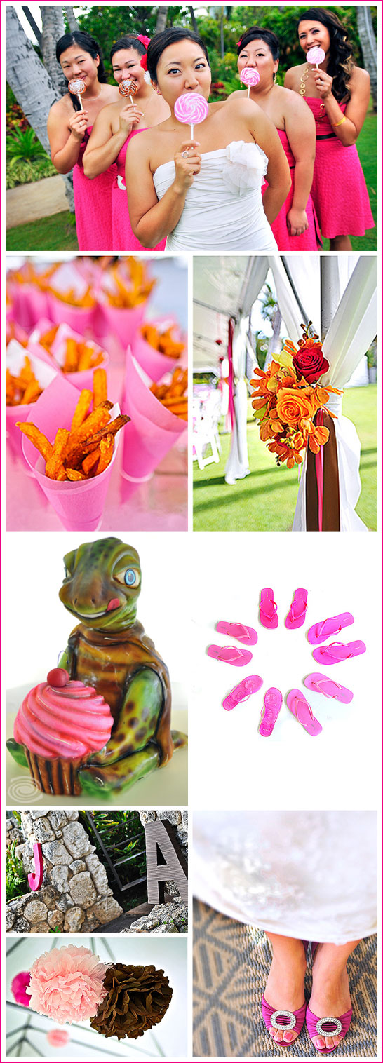 Cupcake Themed Wedding