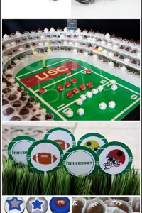 Super Bowl Football Sweets