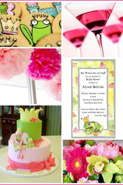 Inspiration Board: Frog Prince Bridal Shower