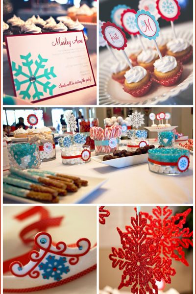 Real Party: Aqua & Red First Birthday