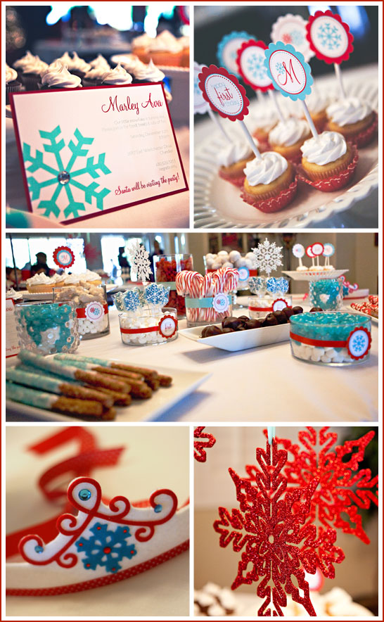 Turquoise and Red First Birthday