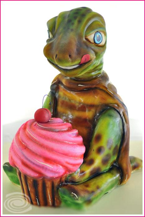 cakelava Turtle Cake