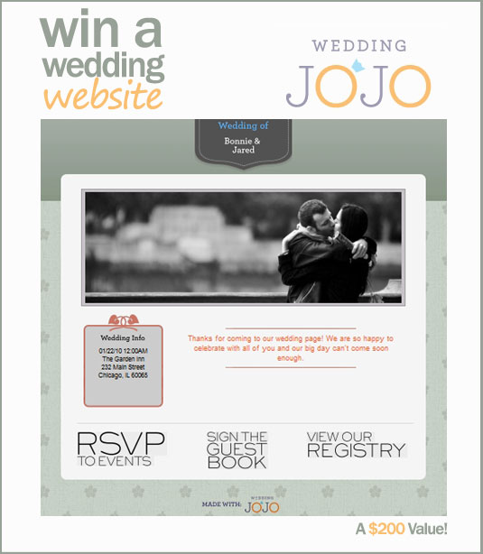 Wedding JoJo Giveaway