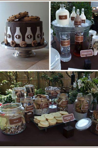 Real Party: Milk & Cookies Birthday