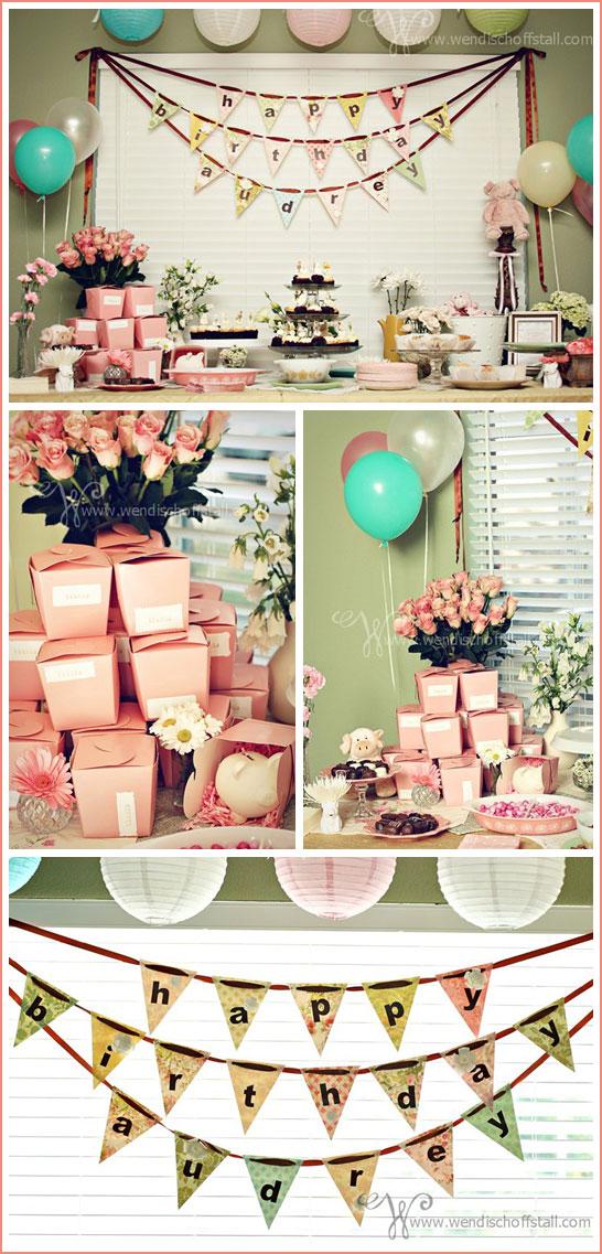 Pig Birthday Party