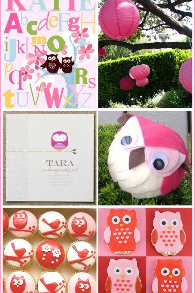 Inspiration Board: Owl Baby Shower
