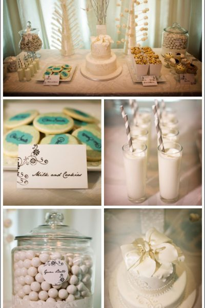 Chic White Dessert Table