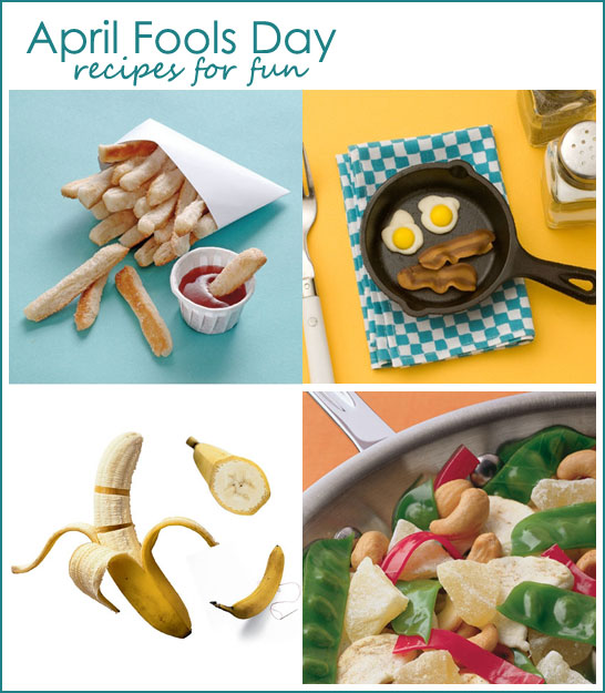 April Fools Recipes