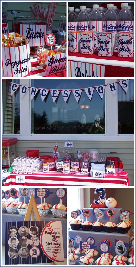 Baseball Birthday Party Inspiration
