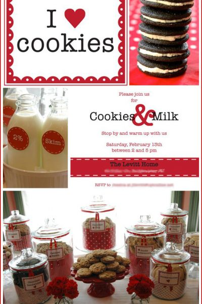 Real Party: Cookies and Milk