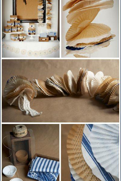 Fab Find: Cupcake Liner Garland