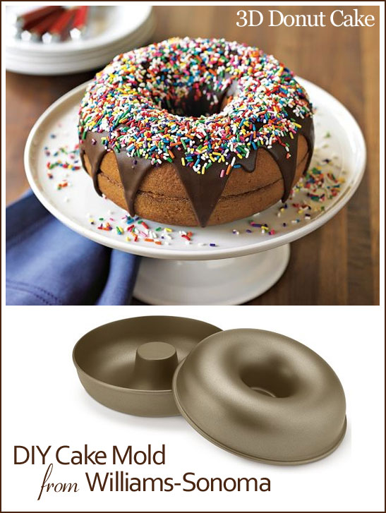 3D Donut Cake by Williams-Sonoma
