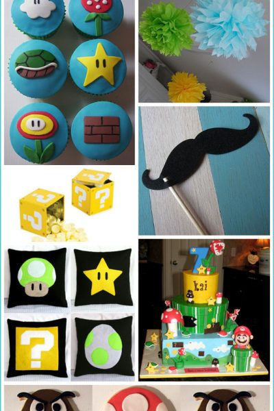 Inspiration Board: Super Mario Bros Birthday