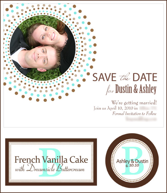 Brown Tiffany Blue Wedding Sneak Peak