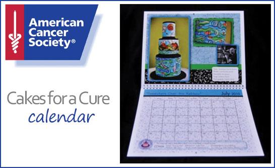 Cakes for a Cure Calendar