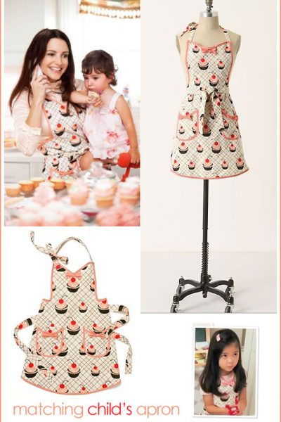 Fab Find: Charlotte's Cupcake Apron