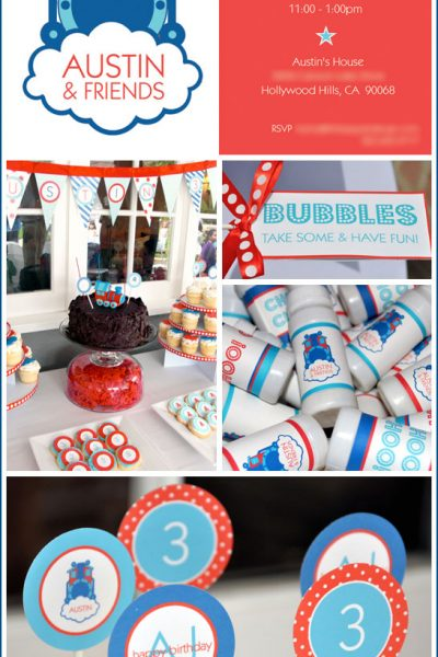 Real Party: Thomas the Train Birthday
