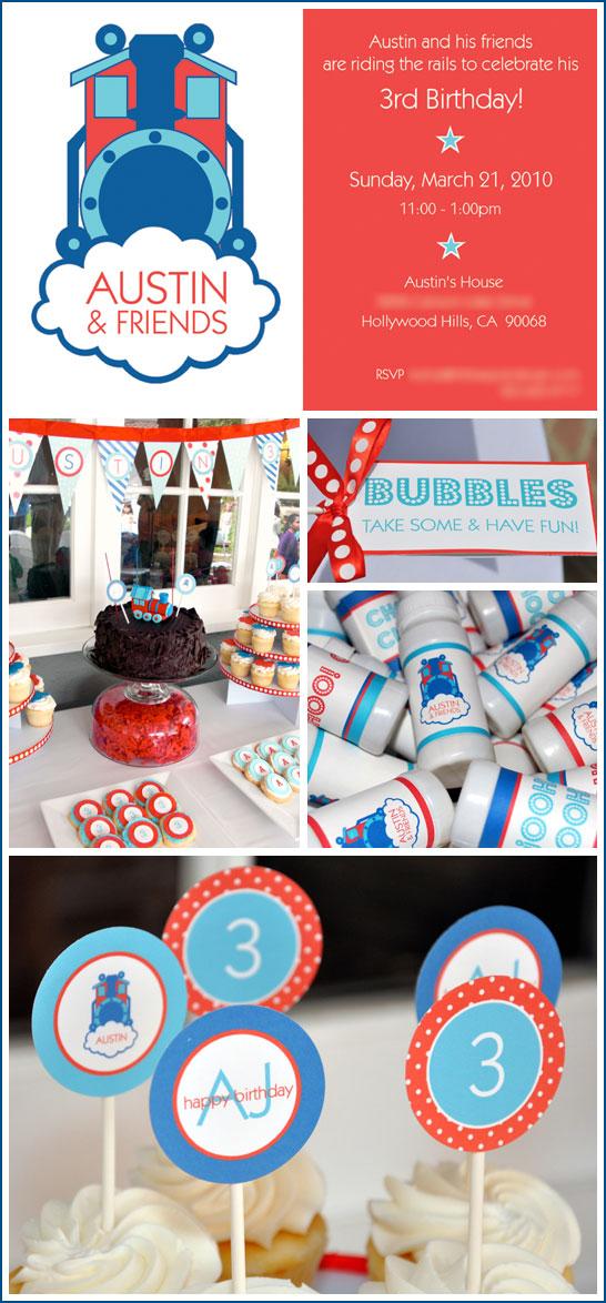 Thomas the Train Birthday Party