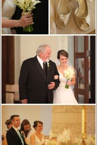 Real Wedding: Chocolate Brown & Tiffany Blue