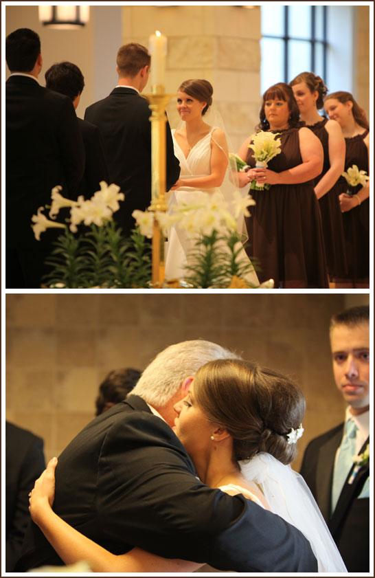 Tiffany Blue and Chocolate Brown Wedding