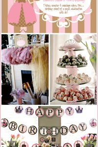 Tutus and Tiaras Party
