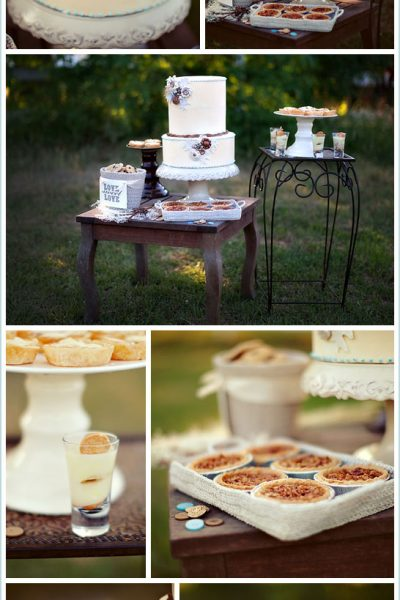 Real Party: Vintage Button Wedding