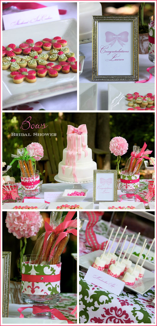 Bow Bridal Shower