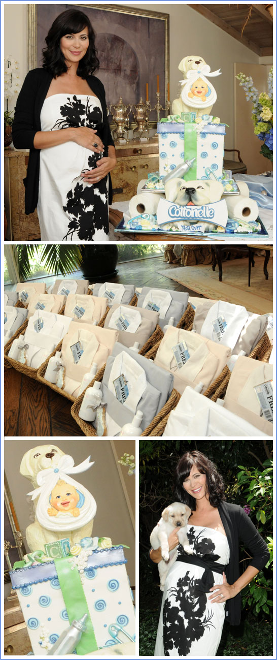 Catherine Bell Baby Shower