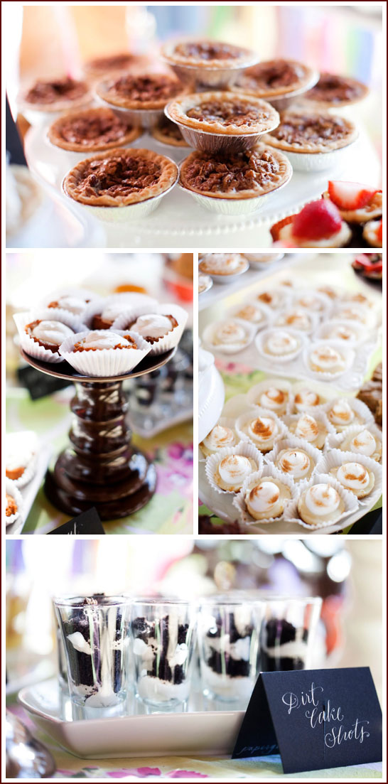 Southern Dessert Table