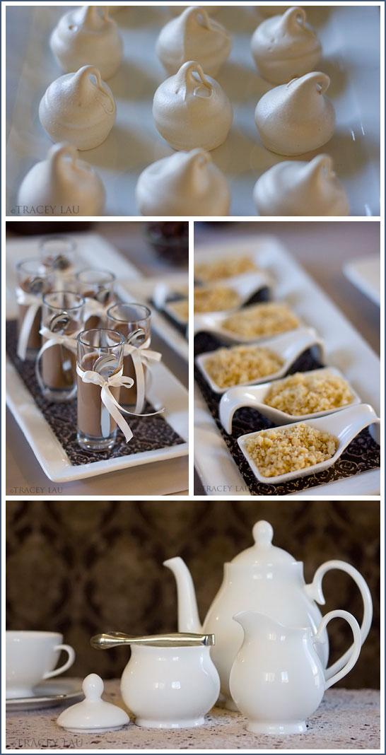 Elegant Tea Party in Blue & Brown