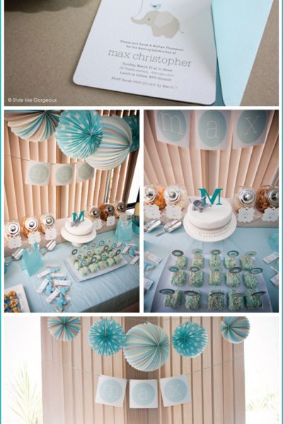 Real Party: Elephant Baby Shower