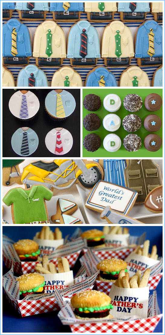 Father's Day Cupcakes and Cookies