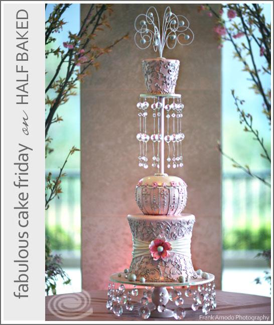 Pink Bling Cake by cakelava