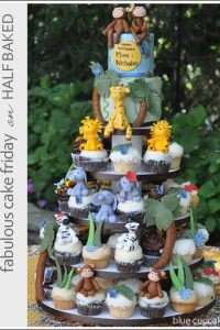 Jungle Safari Cake & Cupcakes