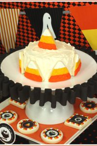 The Celebration Shoppe Candy Corn Collection Cake