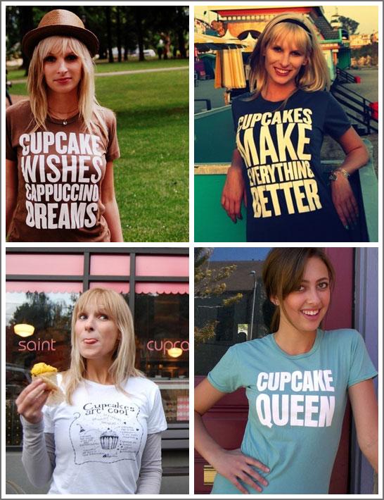 Cupcake Inspired T-Shirts