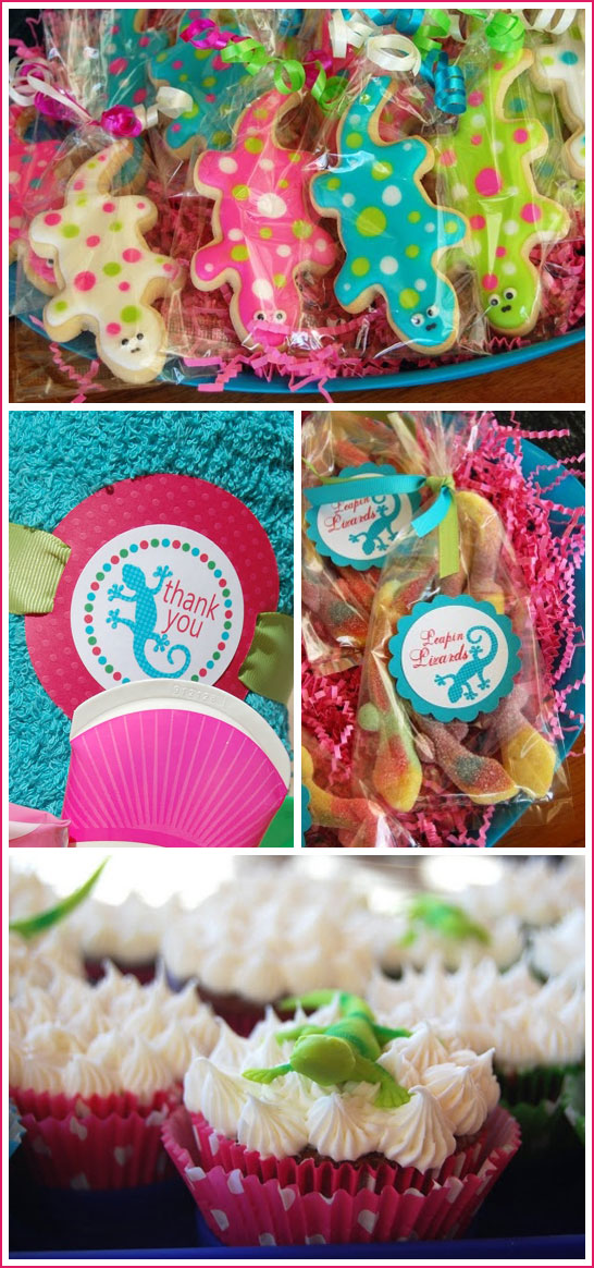Leapin Lizards Beach Birthday Party