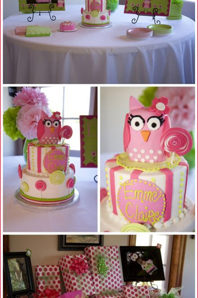 Real Party: Owls & Lollipops