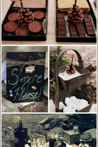 S'Mores Campout Birthday Party